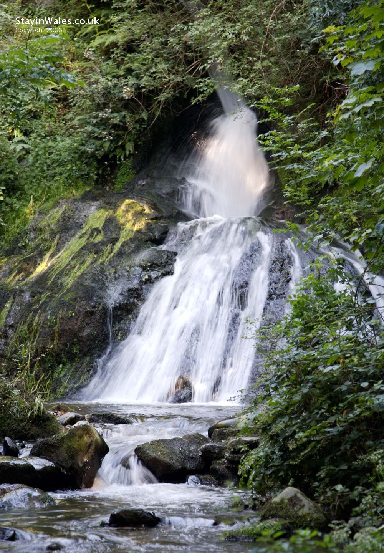 Penbryn waterfall