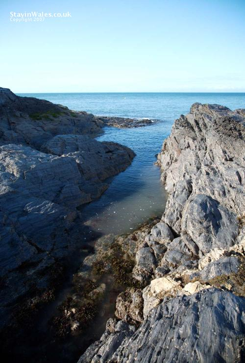 Coastal rocks Aberporth
