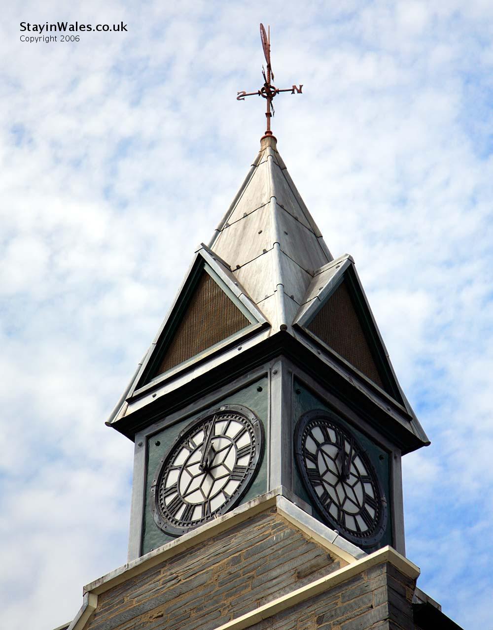 Cardigan Guildhall Clock