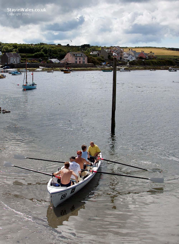 Rowing at Newport