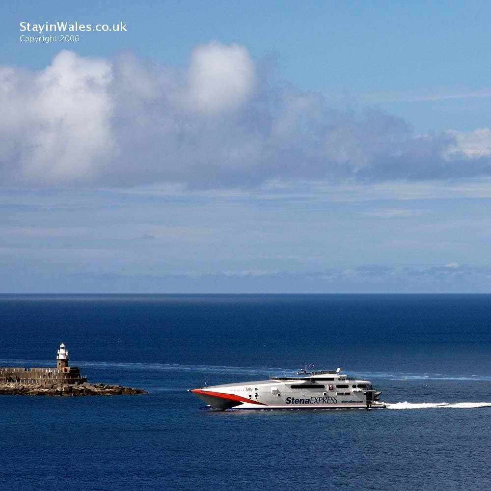 Ferry at Fishguard