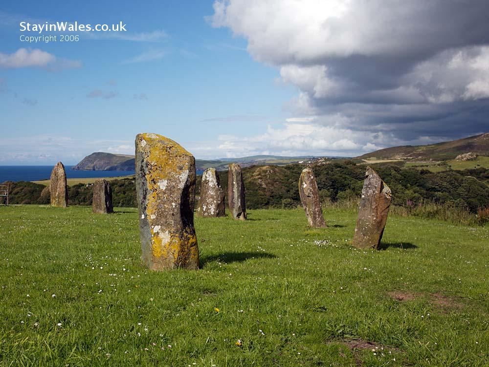Gorsedd stone circle Fishguard