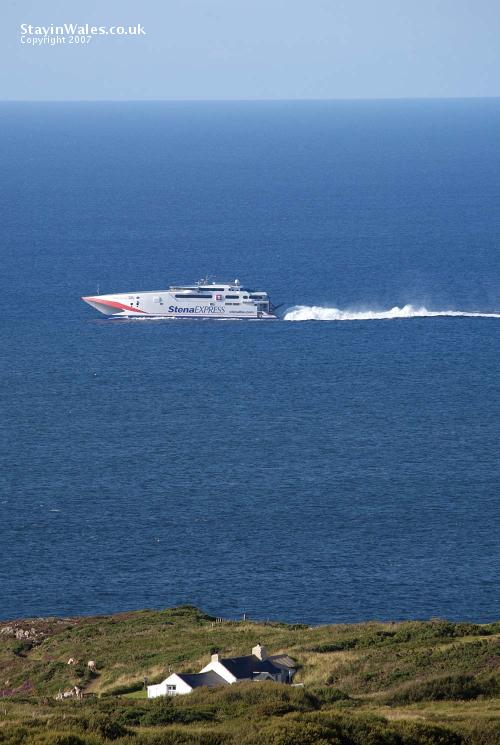 Stena ferry at Strumble Head