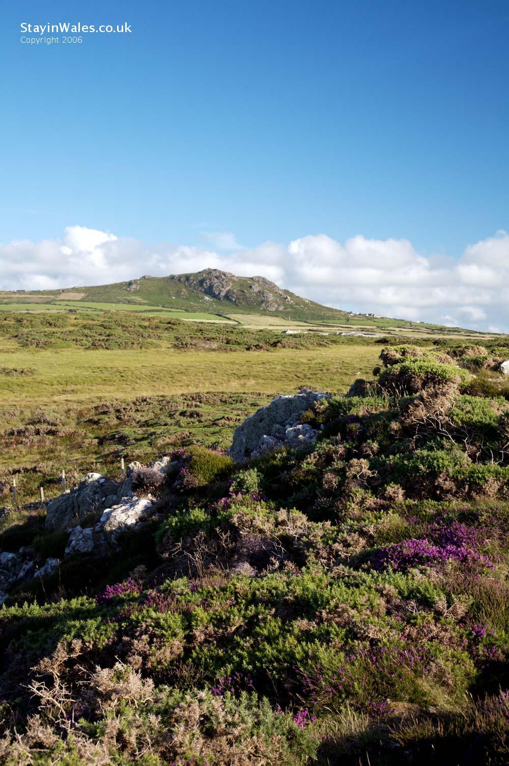 Pembrokeshire coast scenery