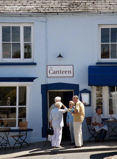 Newport Pembrokeshire cafe