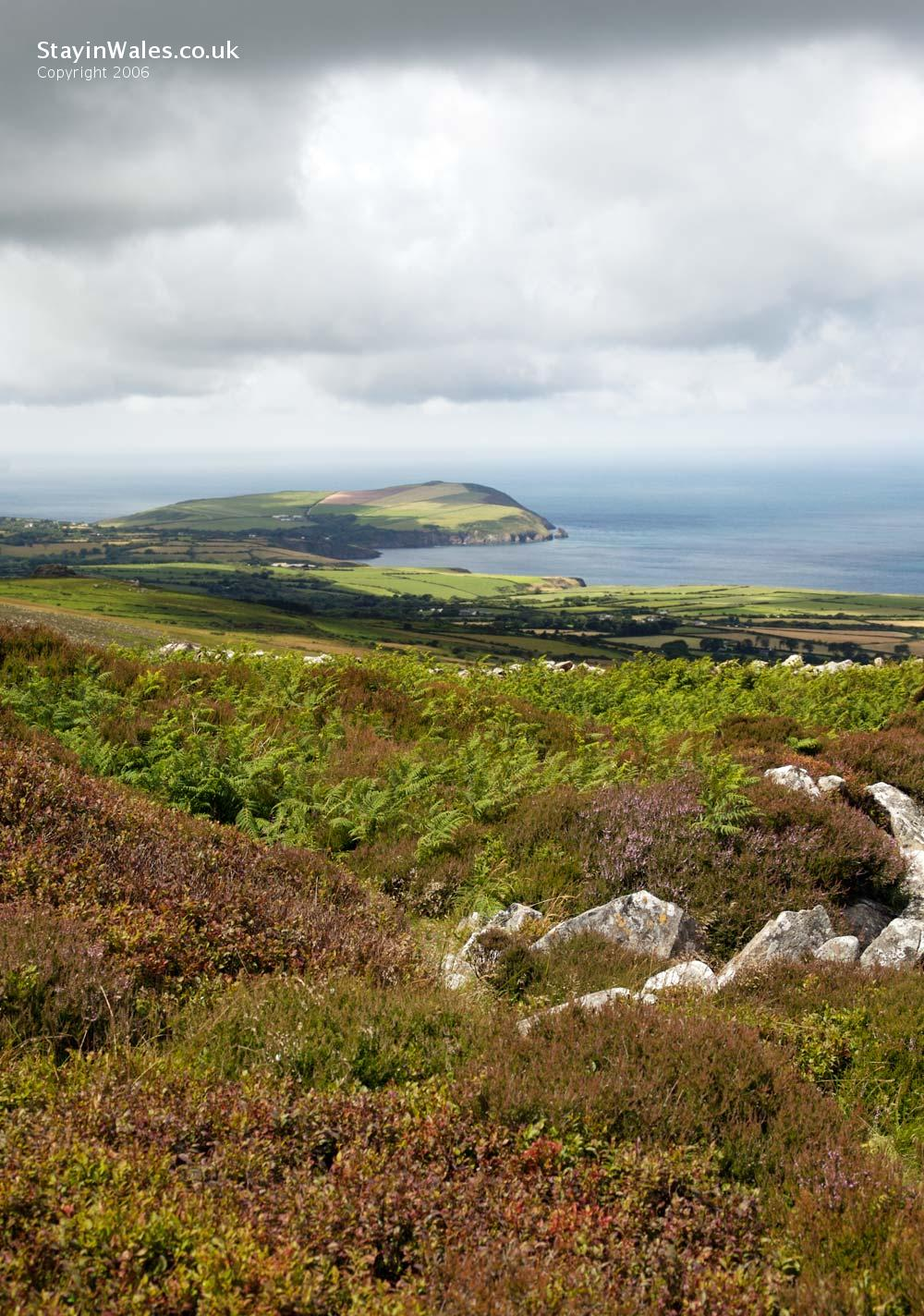 Dinas Head from Carn Ingli, Pembrokeshire