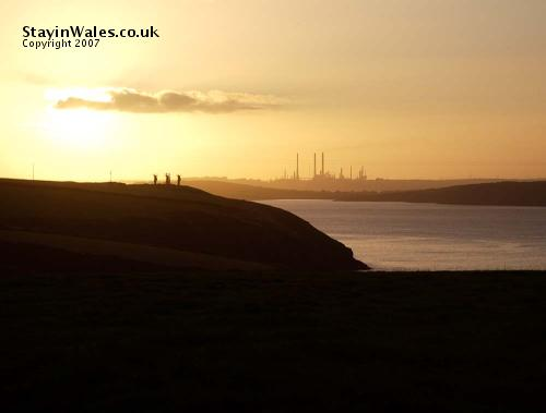 Milford Haven sunrise