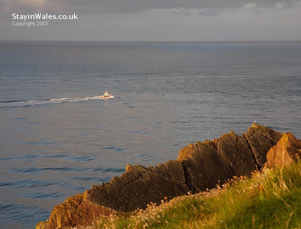 Fishing boat Pembrokeshire