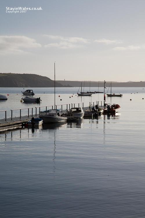Boats at Dale, Pembrokeshire
