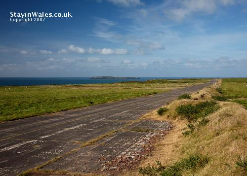 Runway at Dale Airfield