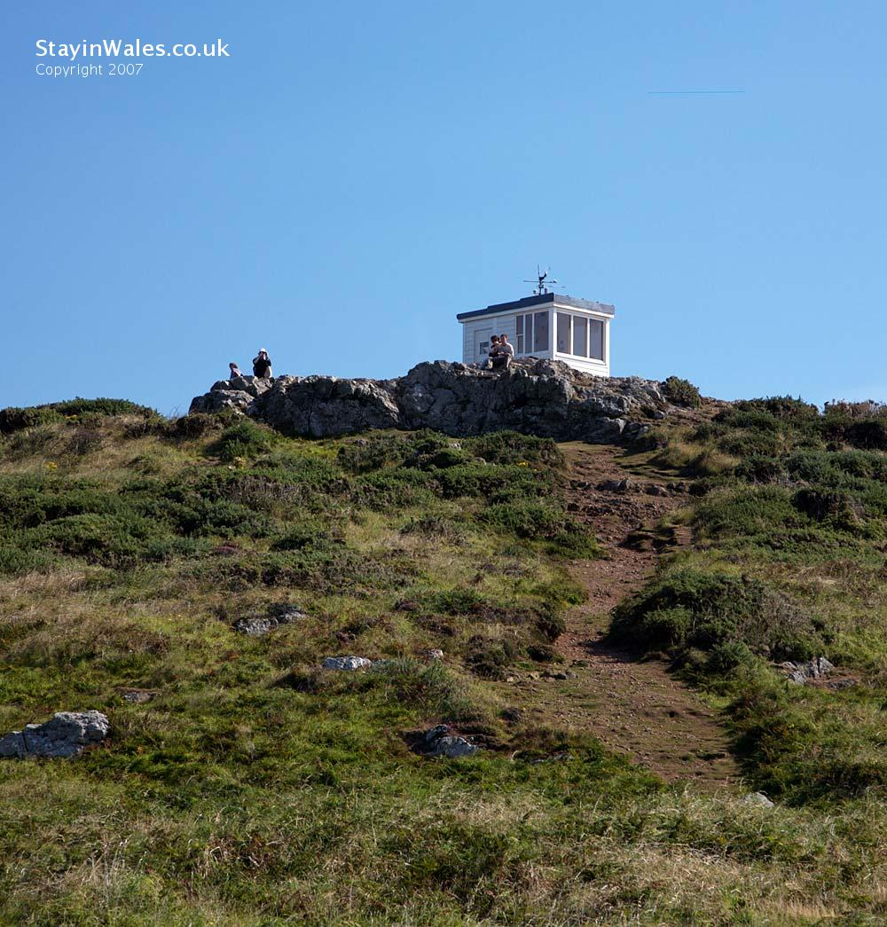 Coastguard lookout Wooltack Head