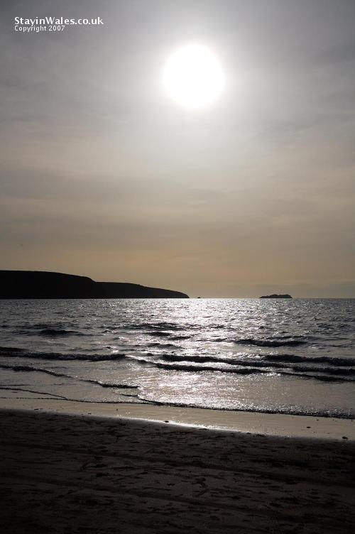 Broad Haven sunset