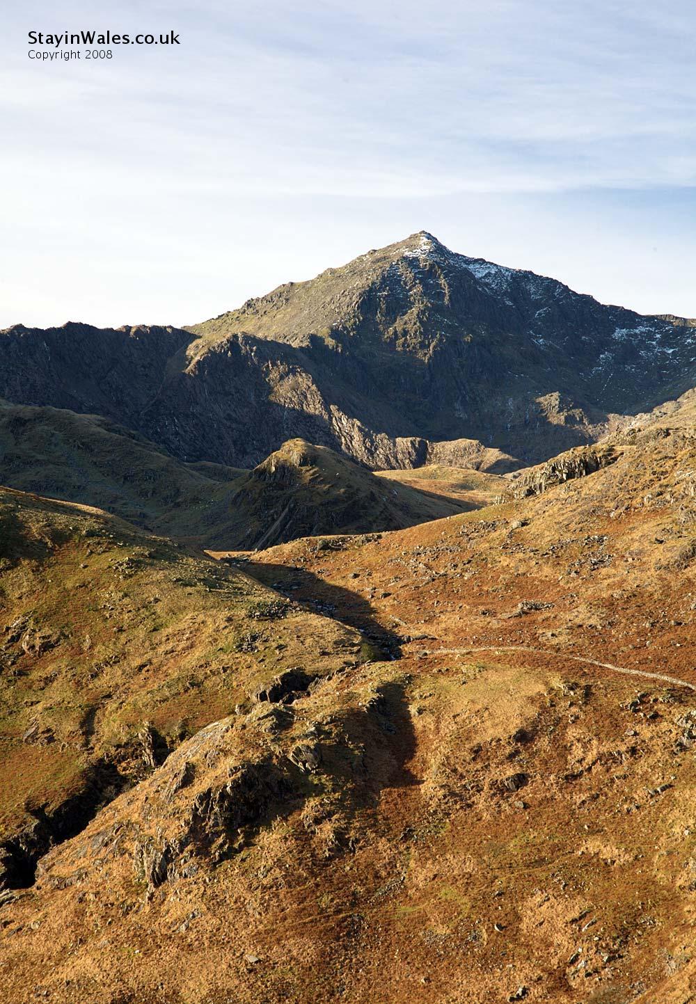 The Snowdon massif