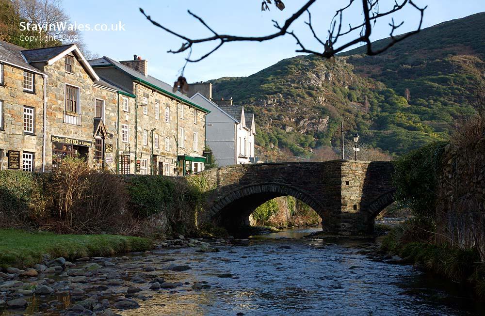 Colwyn Bridge in Beddgelert