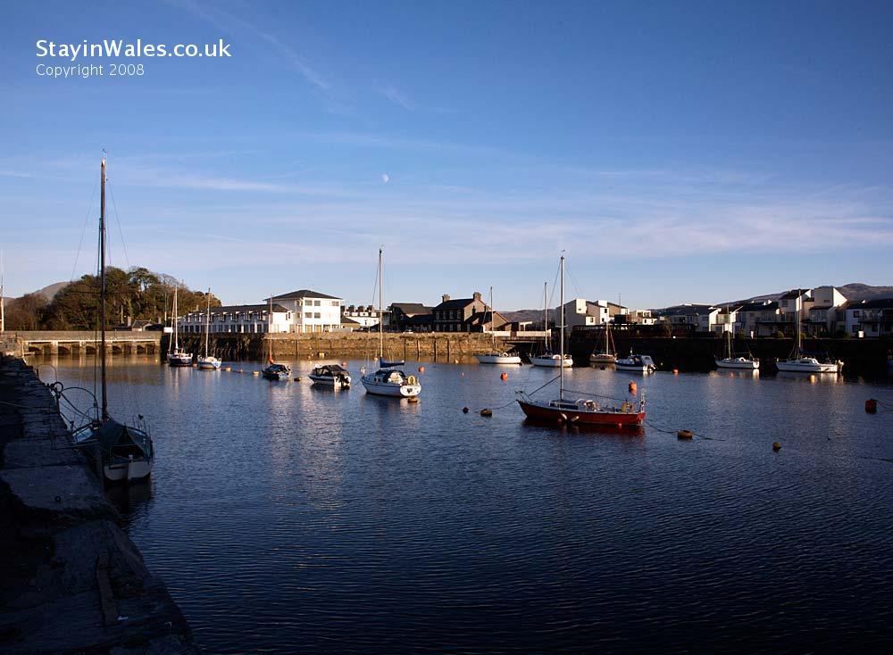 Porthmaddog Harbour, North Wales