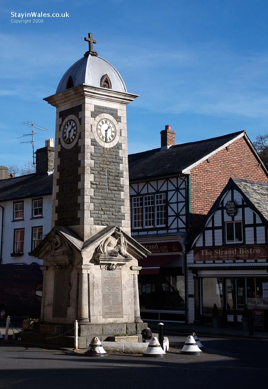 Rhayader clock tower, Powys