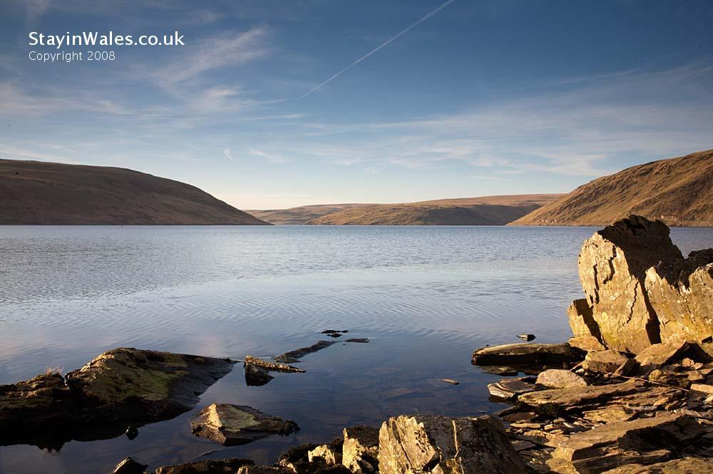 Claerwen Reservoir, Powys