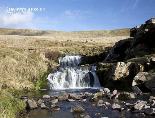 Waterfalls at Pont ar Daf