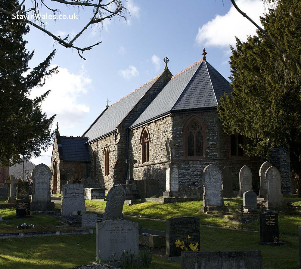 Church of St Llyr, Llanyre, Powys