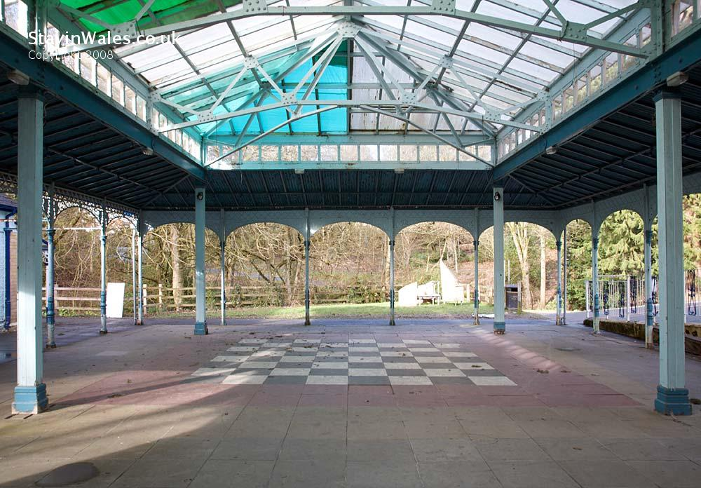 Pavilion in the Rock Park, Llandrindod Wells