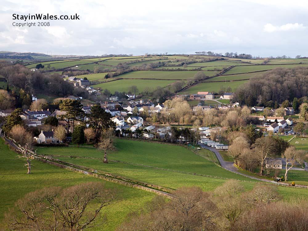 Llansteffan, Carmarthenshire