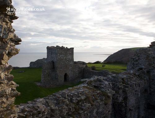 Llansteffan Castle inner gatehouse