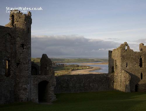 Llansteffan Castle Great Gatehouse