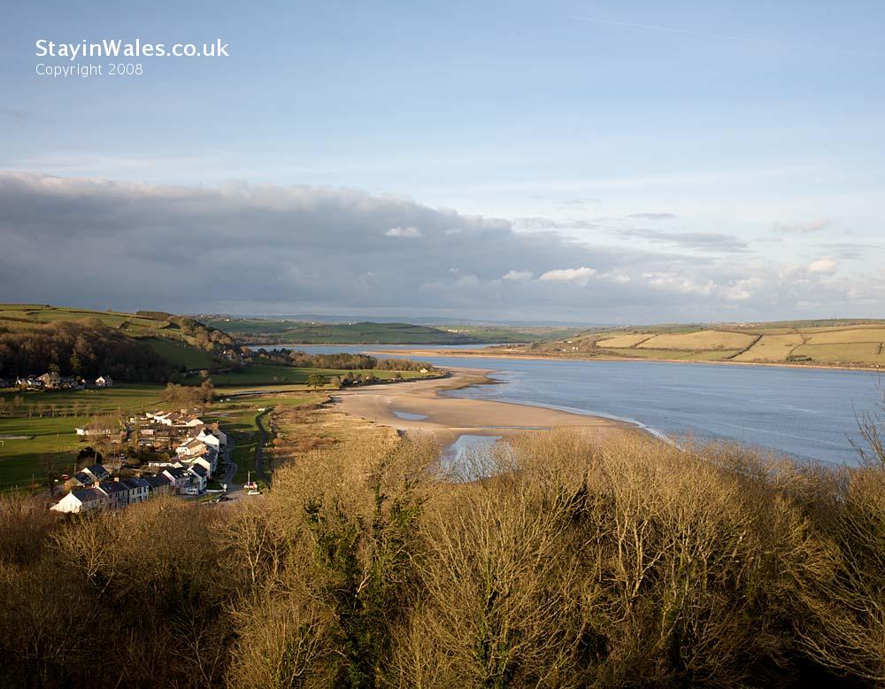 Llansteffan and the Towy Estuary
