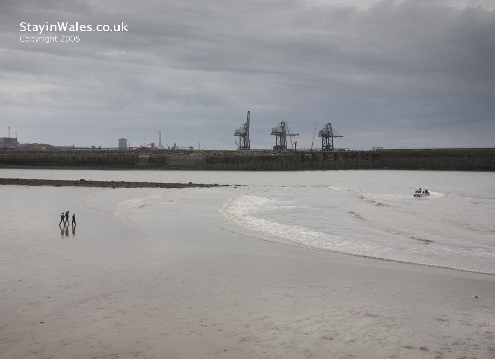 Port Talbot Docks Beach