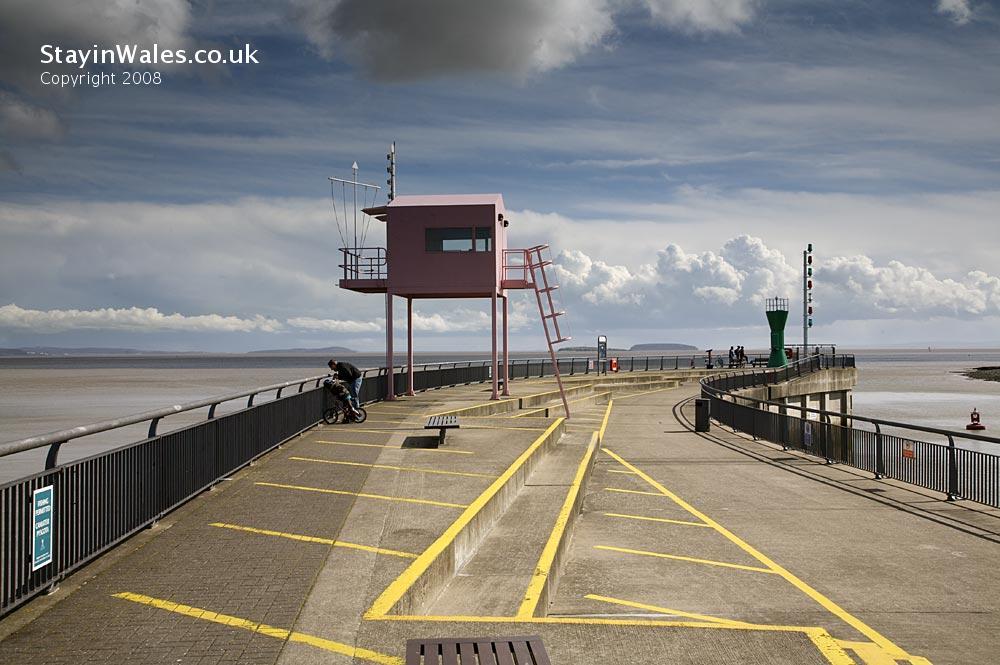 Pink Hut, Cardiff Bay Barrage