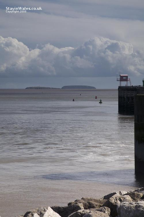 Flat Holm and Steep Holm Islands