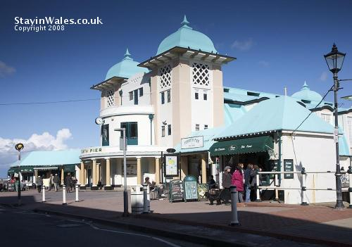 The pavilion at Penarth Pier