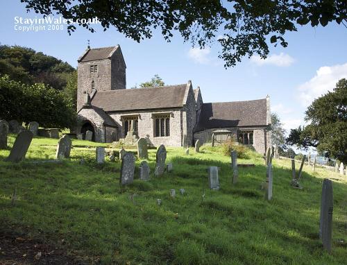Penallt Old Church, Monmouth