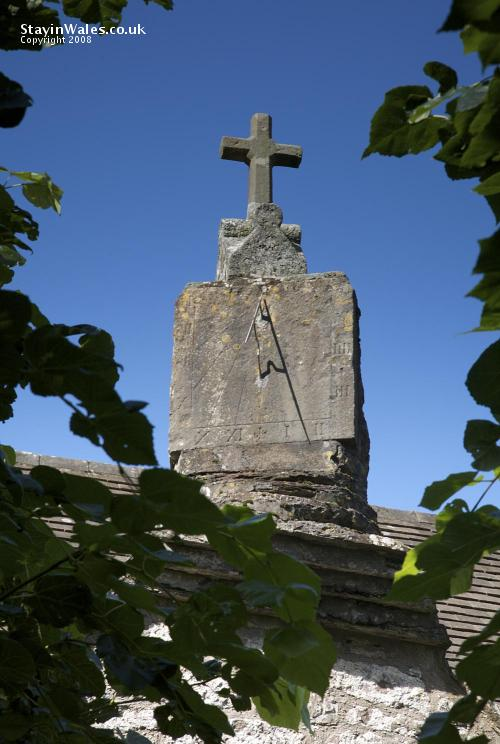 Sundial at Penallt Old Church, Monmouth