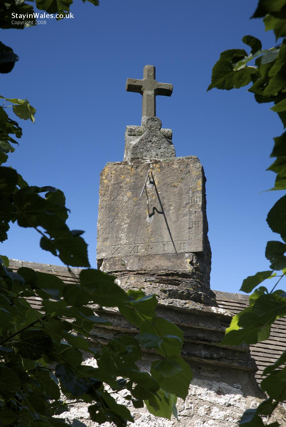 Sundial at Penallt Old Church, Monmouth