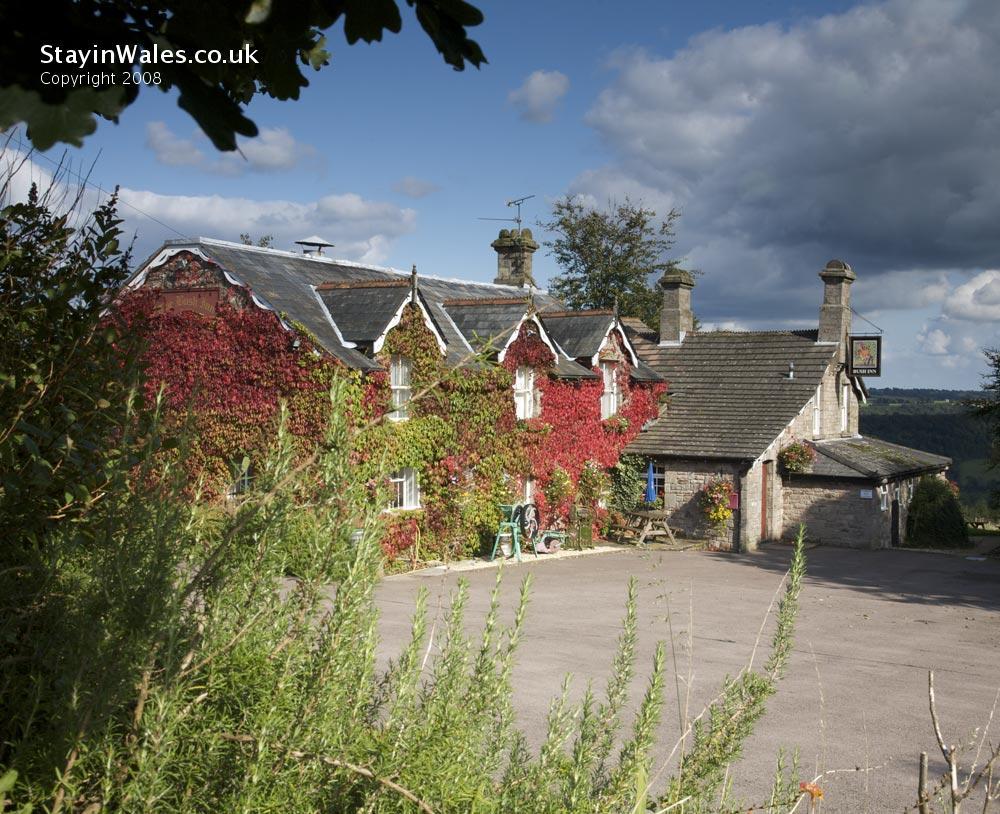 The Bush Inn at Penallt in the Wye Valley