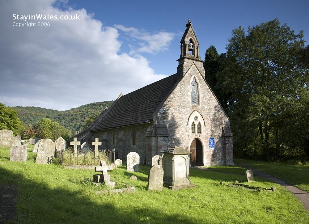 St Michael's Church at Tintern, Monmouthshire