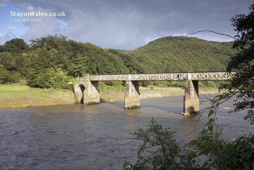 Wireworks branch bridge at Tintern