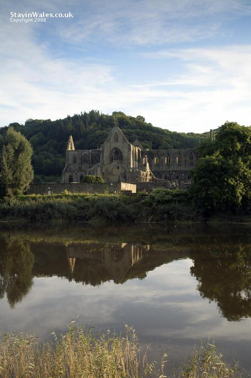 Tintern Abbey, between Monmouth and Chepstow