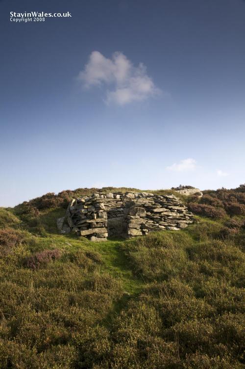 Shepherd's hut in the Elan Valley