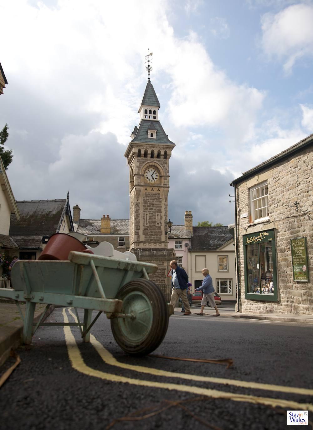 Lion Street and the Clocktower, Hay-on-Wye
