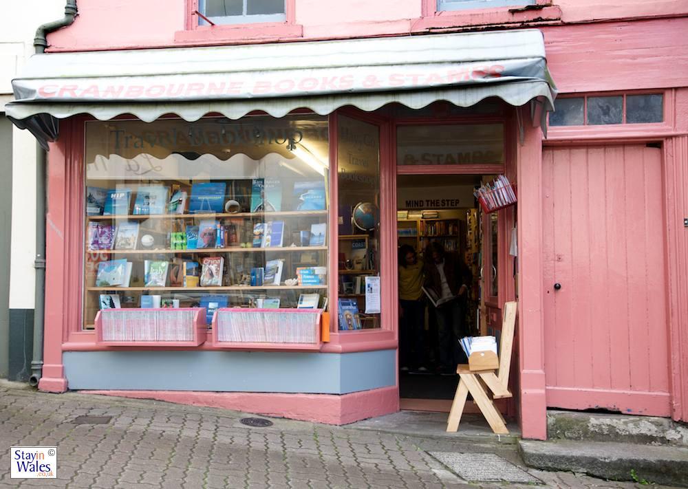 Travel Bookshop on Lion Street, Hay-on-Wye