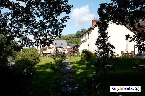 The Aberceiros Inn at Llangammarch Wells