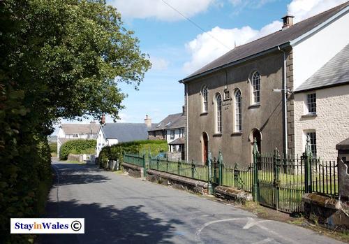 Chapel in Cefn Gorwydd