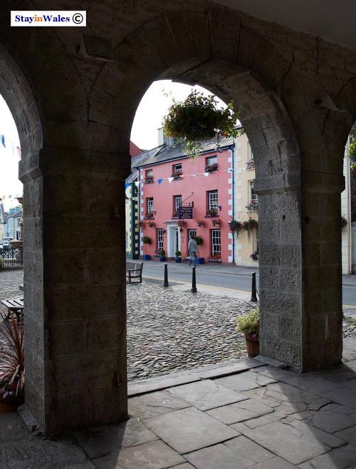 Llandovery town centre