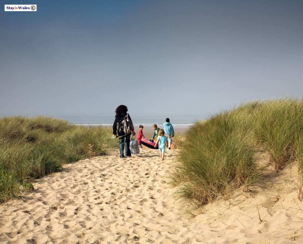 Rhossili Beach on the Gower Peninsula