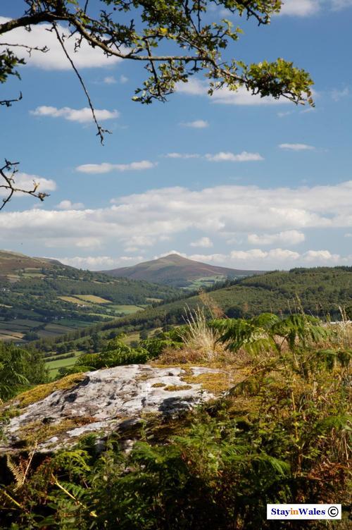 Sugarloaf Mountain, Abergavenny