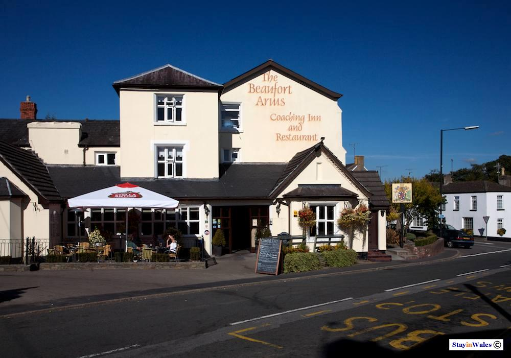 Beaufort Arms at Raglan in Monmouthshire