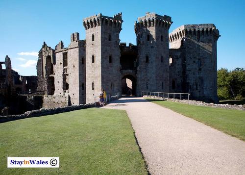 Great Gatehouse at Raglan Castle
