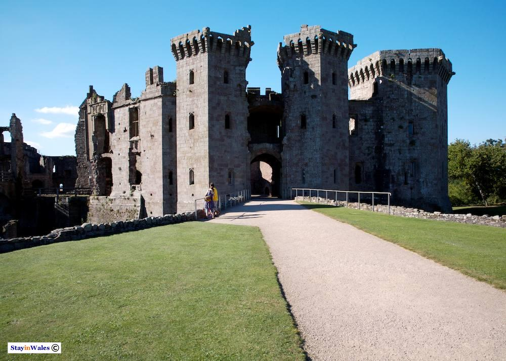 Great Gatehouse at Raglan Castle